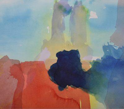Valeska Zabel | ohne Titel | 2010 | Aquarell auf Papier | 41 x 59 cm | VZPA2010-01 | Galerie Moench Berlin