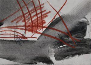 Reinhard Dickel | ohne Titel | 1980 | Aquarell auf Papier | ca. 15 x 21 cm | Galerie Moench Berlin