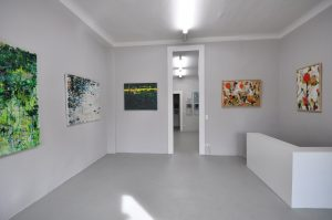 Ausstellung Accrochage | Galerie Moench Berlin | 2015 | Evelyn Garden | Reinhard Dickel | Carola Czempik