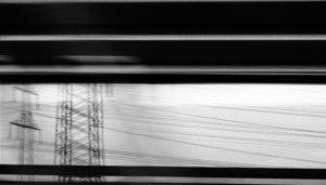 Betina Kuntzsch | A5 EINE REISE TUN 1 | 2008 | Videozeichnungen | Piezoprint auf Papier | Auflage 3+2 AP | 80 x 140 cm | Galerie Moench Berlin
