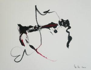 Martin Matschinky | ohne Titel | 2001 | Mischtechnik auf Papier | 21 x 29 cm | Galerie Moench Berlin
