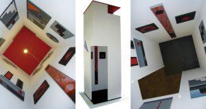Gerhard Walter Feuchter Ausstellung Bauwerken Galerie Moench Berlin