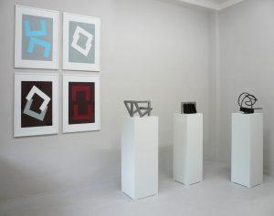Ruth Gindhart | VON WINKELN, WOLKEN, WIDERSTAENDEN | Ausstellung Galerie Moench Berlin | 2016