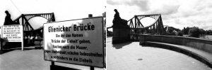 Walther Grunwald Mauer Glienicker Brücke 1981 2009 Fotografie Galerie Moench Berlin