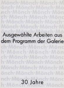 30 Jahre Galerie Moench Berlin 2