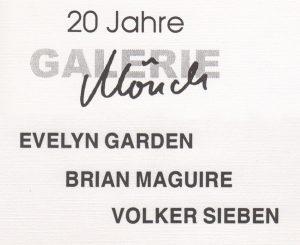 Evelyn Garden | Brian Macuire | Volker Sieben | Galerie Moench Berlin
