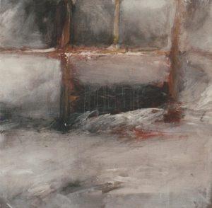 Reinhard Dickel | ohne Titel (Fensterbild) | zeitgenössische Malerei | Galerie Moench Berlin
