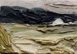 Klaus Fussmann | Feld mit Haus | Galerie Moench Berlin