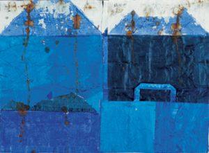 Tamer Serbay BLUE | Galerie Moench Berlin