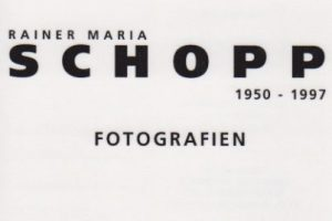 Rainer Maria Schopp | Fotografien | Galerie Moench Berlin