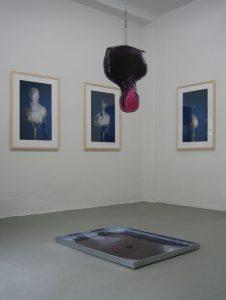 Franticek Klossner WAS BLEIBT, WENN DER KOPF SCHMILZT? Galerie Moench Berlin