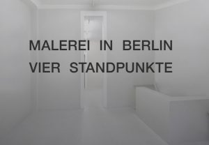Malerei in Berlin | Galerie Moench Berlin